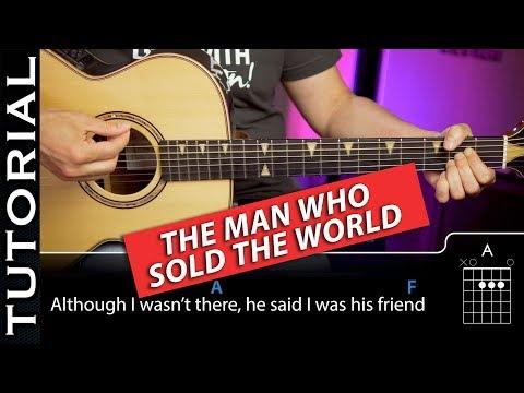 Cómo tocar NIRVANA - The Man Who Sold The World COMPLETO (CON SOLOS Y ACORDES GUITARRA)