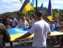 Флаг Украины соединил разрушенный мост между Лисичанском и СеверодонецкомВОТ КАК НАДО СТРОИТЬ