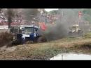 Бизон Трек Шоу под Ростовом состоялись гонки на тракторах