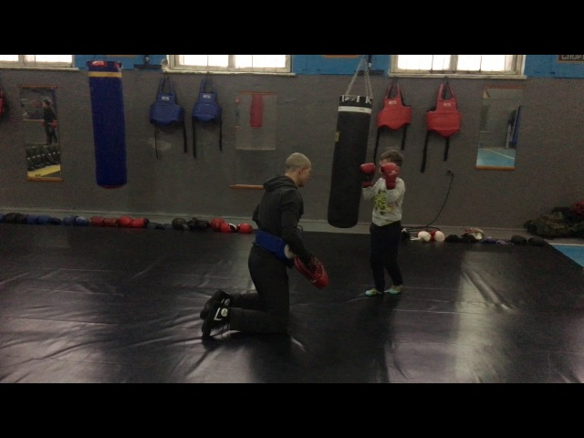 Pitbull-Sambir training session К-1. muay thai. Cossack Fight
