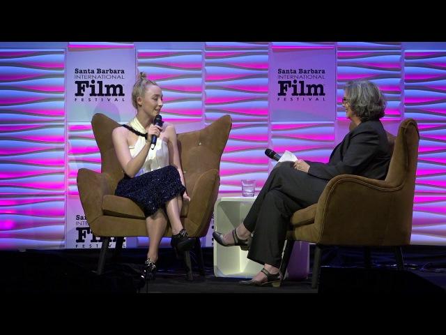 SBIFF 2018 Saoirse Ronan Discusses Hosting SNL