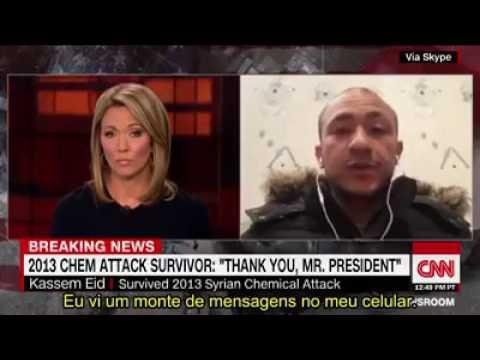 Sírio Agradece Donald Trump na CNN AO VIVO deixando repórter sem reação Confira