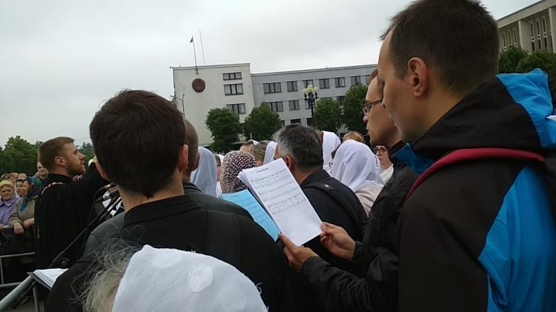 Встреча креста Ефросиньи Полоцкой