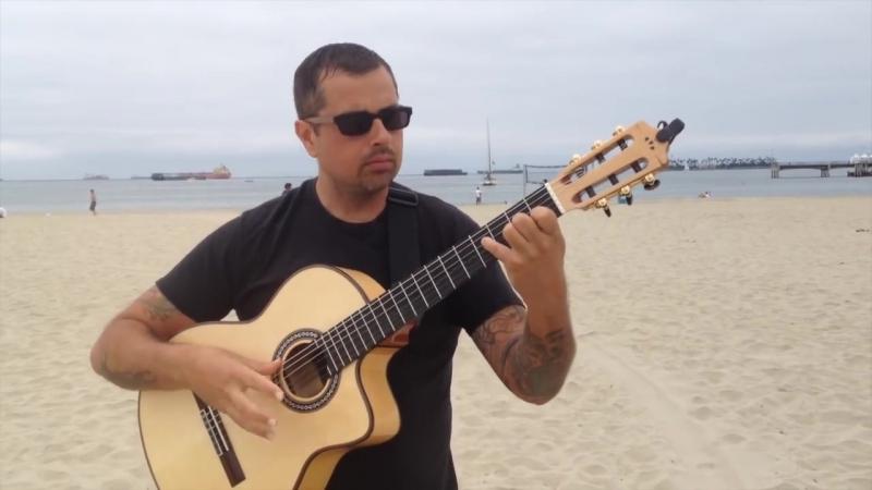 Bamboleo Gipsy Kings - Solo Flamenco Guitar Ben Woods -Video Tabs