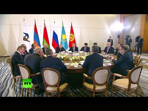 Путин открыл заседание Высшего евразийского экономического совета в Сочи