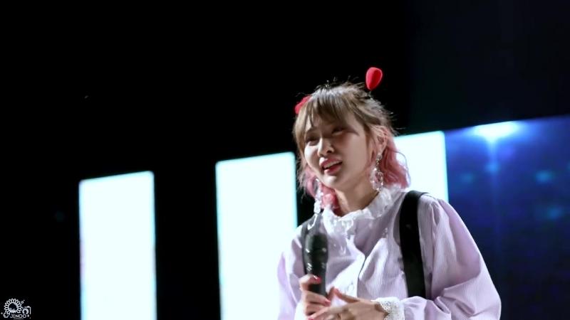[FANCAM] 180524 BOL4 (볼빨간 사춘기) - Some (썸 탈꺼야) Grumpy (심술) @ SungKyul University Festival