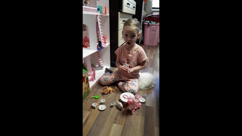 Уборка в кукольном домике 🏘