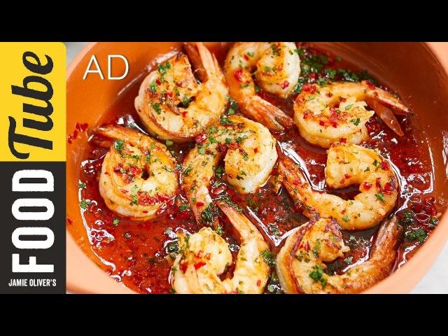 Garlic Chilli Prawns | Bart's Fish Tales | MyFoodMemories | AD