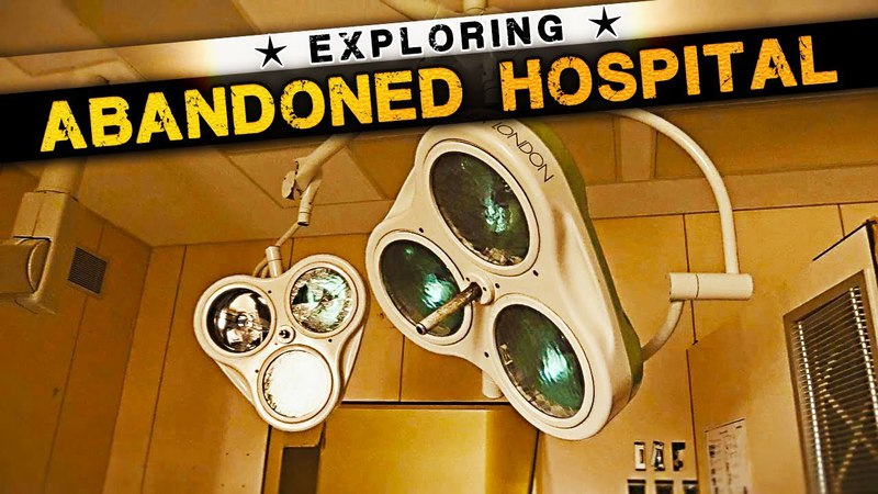 Abandoned HOSPITAL with Operation Rooms and SCARY MORTUARY !!