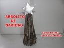 Como hacer un ARBOL DE NAVIDAD CON RAMAS SECAS - Christmas tree with dead branches