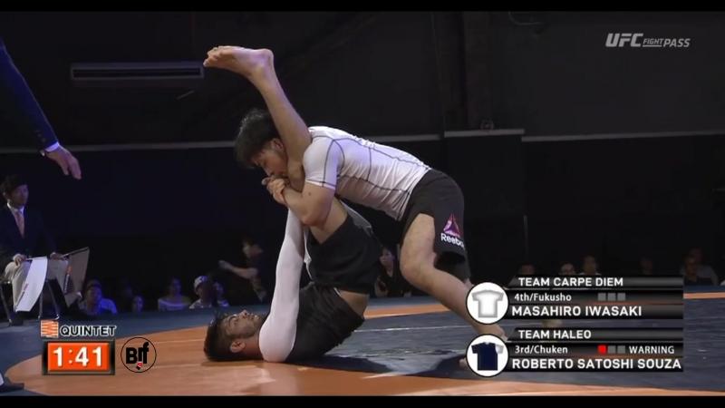 F 6 Masashiro Iwasaki vs Roberto Satoshi Souza quintetFN