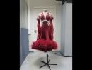 Наша работа: показываем вам роскошное платье со всех сторон