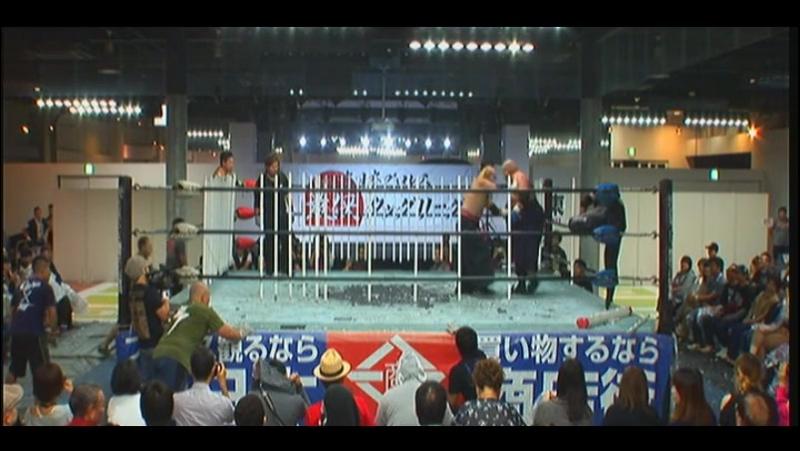Abdullah Kobayashi, Ryuji Ito vs. Jaki Numazawa, Kenji Fukimoto (BJW - Saikyo Tag League 2017 - Day 4)