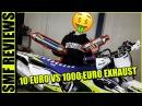 10 EURO VS 1000 EURO EXHAUST Supermofools Reviews
