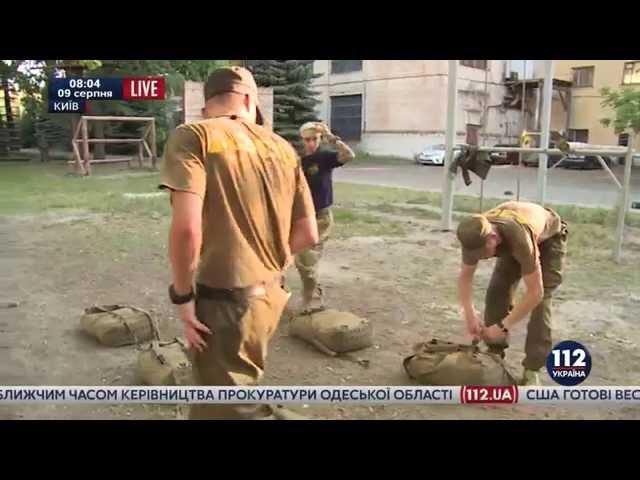 Новобранцы полка Азов сдали экзамен Спартан