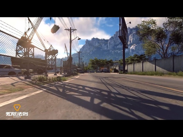 Europa《无限法则》- 1st CBT New Demo Test Trailer Map vs Weather System Show 2018