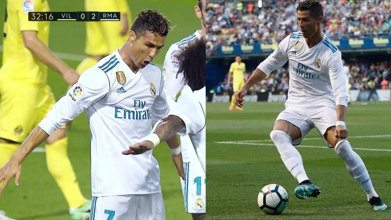 Cristiano Ronaldo Vs Villarreal Away HD 1080i (19/05/2018)