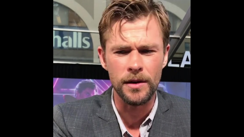 We had some of Avengers InfinityWar cast share who they stand up for in the fight against Cancer