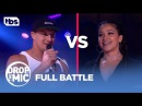 Drop the Mic: Rob Gronkowski vs Gina Rodriguez - FULL BATTLE | TBS
