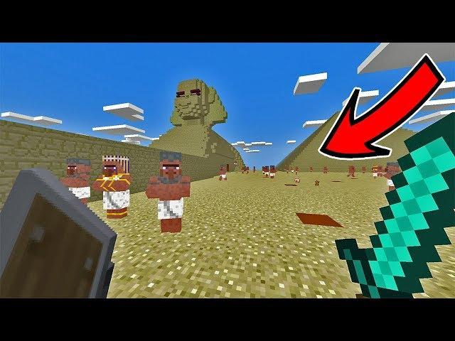Как НАЙТИ ЕГИПТЯН в Minecraft PE 1.2.1