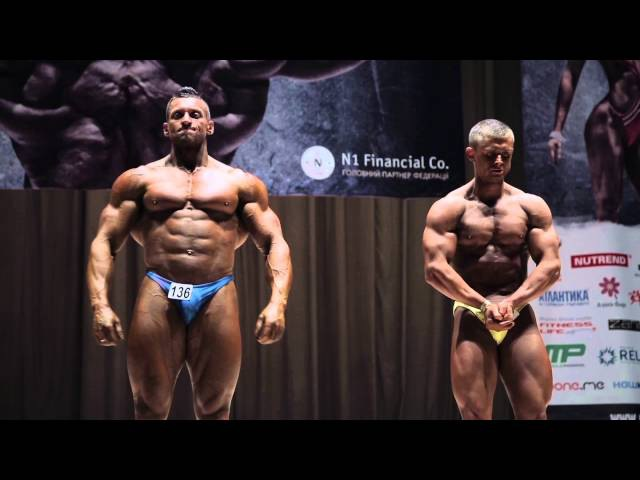 Чемпионат Украины UBPF 2015 - Абсолютка Мужчины Бодибилдинг