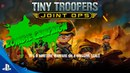 Tiny Troopers Joint Ops Zombie Campaign DLC Trailer | PS4, PS3, PS Vita