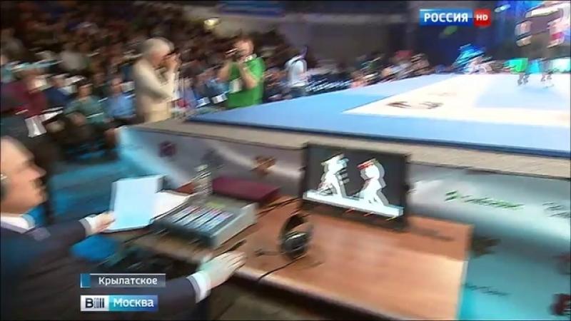 Вести-Москва • В Москве проходит первый в истории профессиональный турнир по рукопашному бою