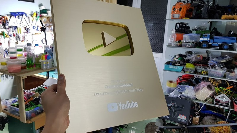 My Gold Play Button   Mini Give Away   Thank YOU For 1,2 MILLION Subscribers