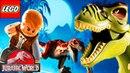 ЛЕГО мультик игра про динозавров Парк Юрского Периода 1-10 серии Детское видео смотреть лего мультик