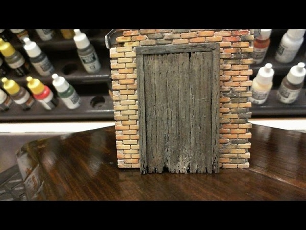 Weathering Door And Door Frame In 1/35 scale (I video 3)