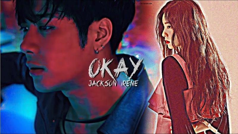 OKAY GOT7 × RED VELVET Jackson × Irene