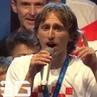 "Football - Futbol - Soccer on Instagram: ""Modric's voice crack while celebrating in Croatia 😂🇭🇷 (@soccergrand) TheFutbolFans"""