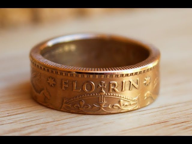Making a double sided coin ring. Best Method.