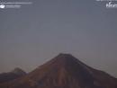 МЕКСИКА световой объект над вулканом Colima 12 марта 2018