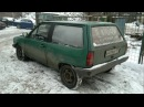 Volkswagen Polo mk1 without exhaust 5.7 HEMI engine inside!