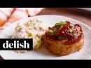 Mini Bacon Meatloaf | Delish