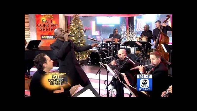 Seal Covers Sinatra's 'Luck Be A Lady' (Live GMA)
