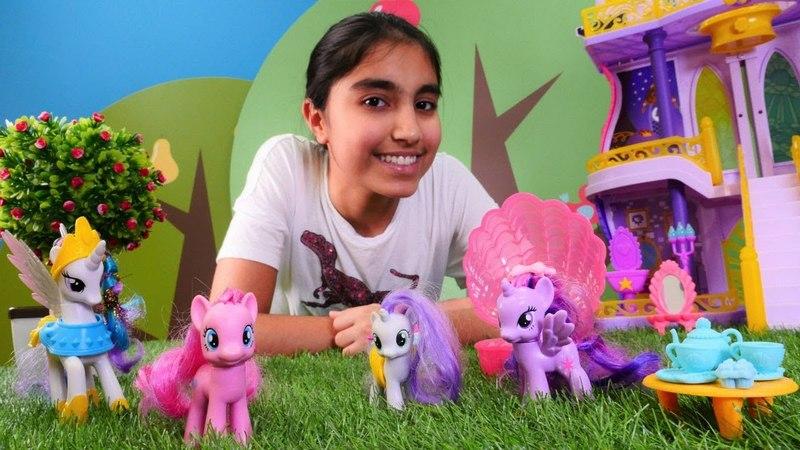 My Little Pony. Pinkie Pie yetenek partisine gidiyor.