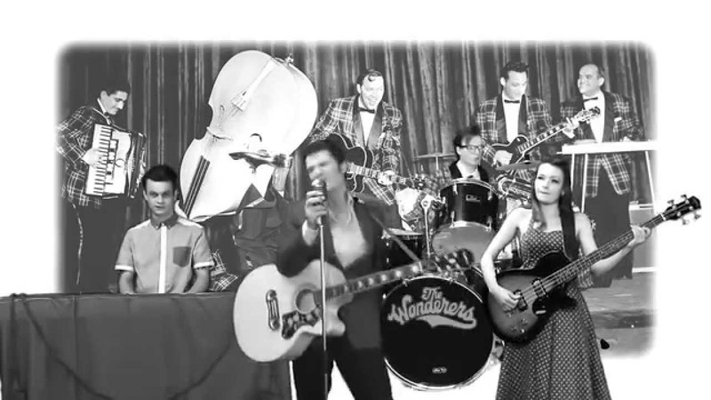 The Wonderers - 50's Rock N Roll Cover Band - Blue Suede Shoes