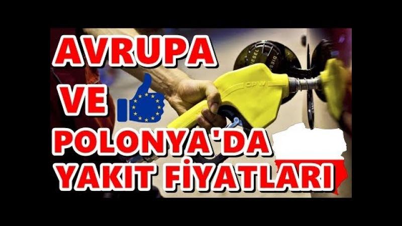 AVRUPA VE POLONYA'DA ARABANIN DEPOSUNU FULLEMEK (Benzin Dizel Ve Lpg Fiyatları)