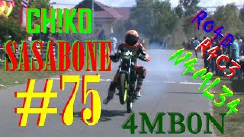 Pembalap Ambon CHIKO SASABONE 75 Di Final Sport 140cc ROAD RACE Namlea MALUKU
