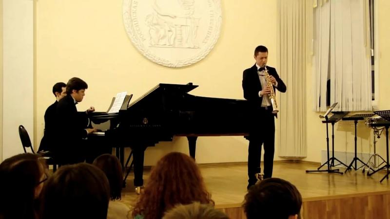 Bach Violin Concerto in A minor (1st mvt.) Nikita ZIMIN, Andrey YAROSHINSKY