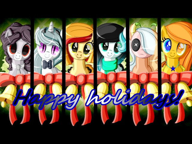 SpeedPaint Presents for my friends MLPxBase New Year and Cristmas special
