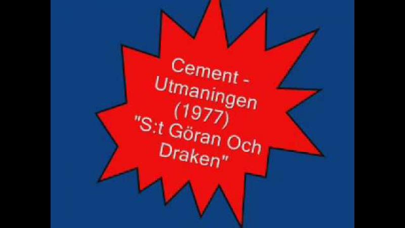 Slite Cement S t Göran Och Draken