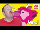 Mr. Sun Animals for Kids MORE Stories for Children | Steve and Maggie from Wow English TV