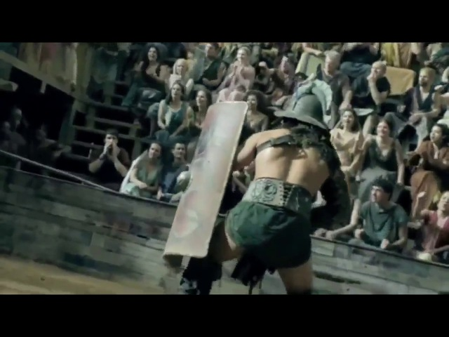 Крикс Гладиатор против Афкта | The first battle in the arena gladiator Crixus vs Afect