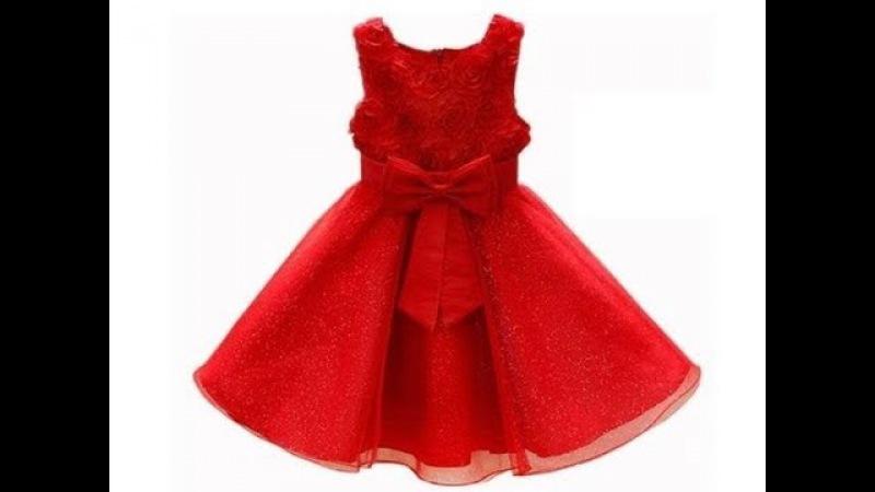 How make a dres for girl 2   como hacer un vestido para niña