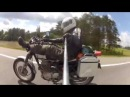 Мотопутешествие СПБ Румыния Трансфагараш HONDA CL400 HONDA CB400SS Yamaha XT600