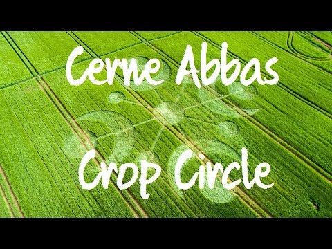 Cerne Abbas Crop Circle - Reported 26 May 2018