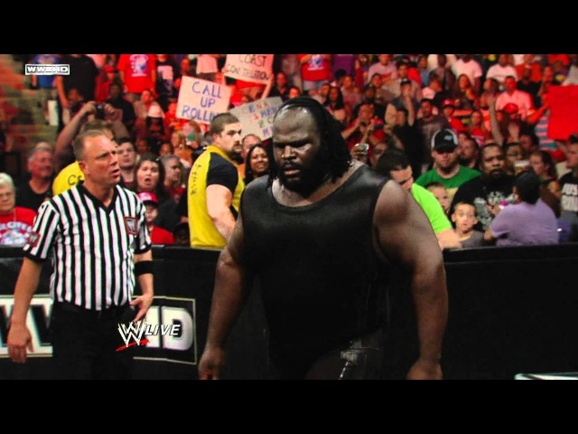 Raw: Kane vs. Mark Henry - Arm Wrestling Contest » Freewka.com - Смотреть онлайн в хорощем качестве